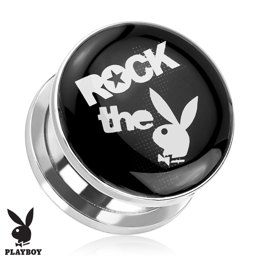 Plug do ucha ROCK the Playboy